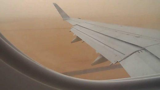 ¡Impactante! Vea cómo quedó un Airbus luego de cruzar una tormenta de granizo