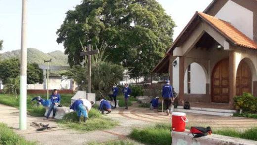 Programa Nueva Esparta Bonita incorpora plazas, canchas e iglesias