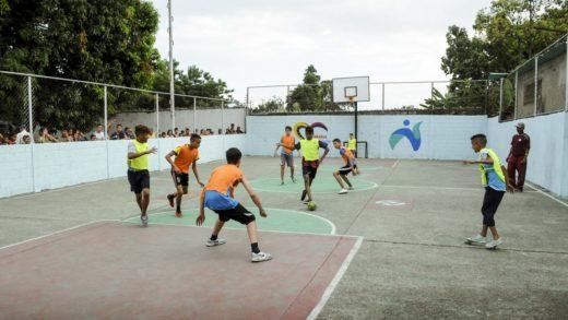 Reacondicionan 150 Canchas deportivas en Venezuela
