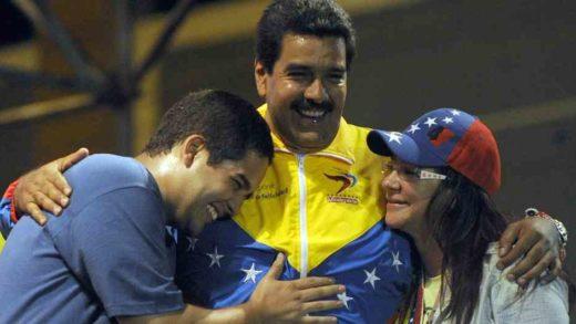 apariciones hijo de Maduro