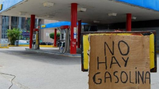 Reportan protesta por falta de gasolina en Porlamar
