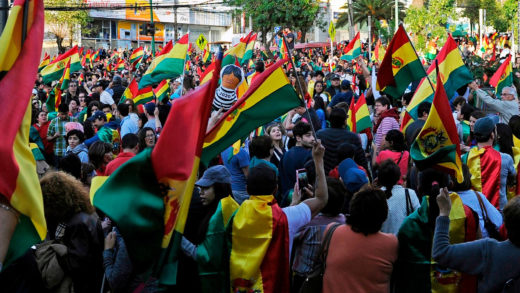 ley protestas Bolivia