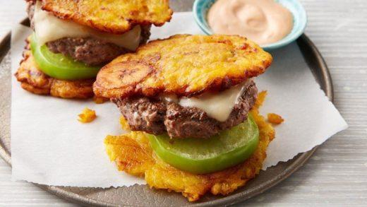 hamburguesas de patacón