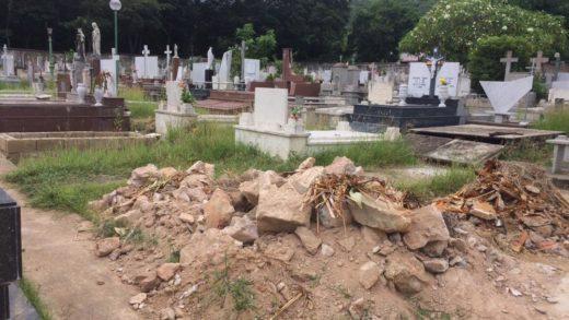 En el olvido: Cementerio de La Asunción en Nueva Esparta se encuentra descuidado por las autoridades