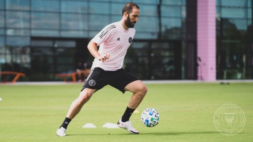 """Gonzalo """"El Pipita"""" Higuaín será jugador del Inter de Miami de Beckham"""