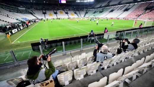 Hasta mil espectadores podrán asistir a las competiciones deportivas al aire libre en Italia