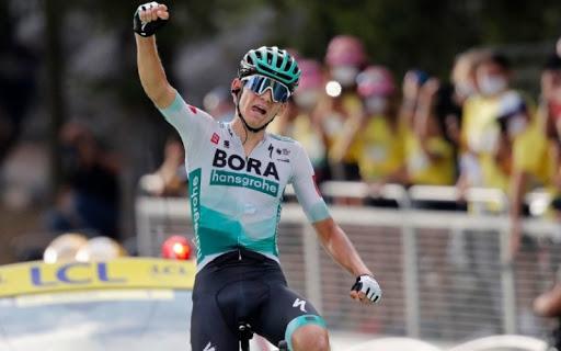 Lennard Kamna conquistó la primera etapa del Tour en Los Alpes