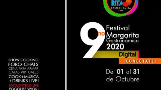 """Novena edición de """"Margarita Gastronómica"""" arrancará en octubre en modo digital"""