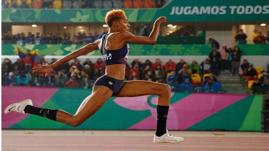 Yulimar Rojas estableció la mejor marca mundial de la temporada de triple salto en Castellón