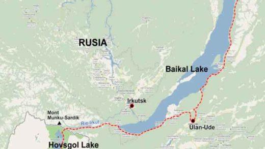 Registran sismo de magnitud 5,9 cerca del lago Baikal en Siberia