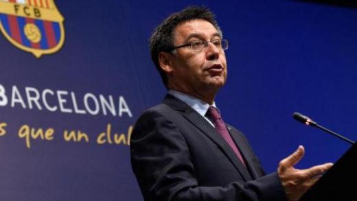 Expresidente del Barcelona Josep Bartomeu cierra su cuenta en twitter