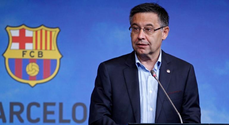 Josep María Bartoméu renunció a la presidencia del FC Barcelona