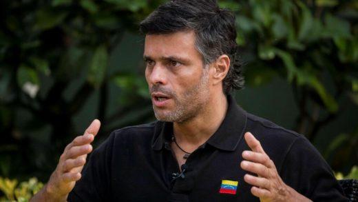 """Leopoldo López: """"Roland Carreño es inocente y otro perseguido de la dictadura"""""""