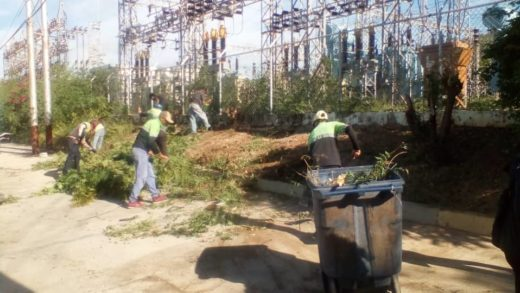 Fospuca inició jornada de limpieza en el sector San Lorenzo en Maneiro