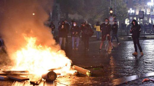 Italia protestas