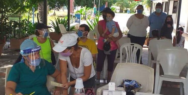 Realizan Jornada de Vacunación en la comunidad Jorge Coll