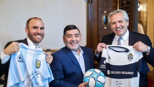 Argentina decreta tres días de luto por la muerte de Maradona