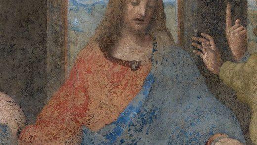 Descubren un boceto de Jesucristo que podría haber sido dibujado por Leonardo da Vinci
