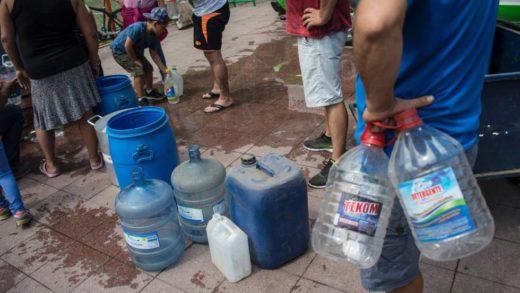 Diez mil familias de Guarenas se quedaron sin servicio de agua desde el pasado fin de semana