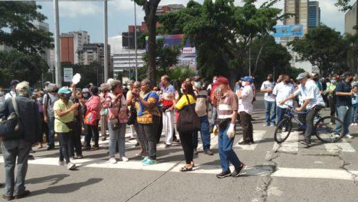 Trabajadores de la Cantv protestan en Caracas tras despidos ilegales y jubilaciones forzadas