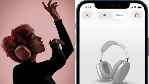 Apple presenta los nuevos AirPods Max, sus primeros auriculares de diadema