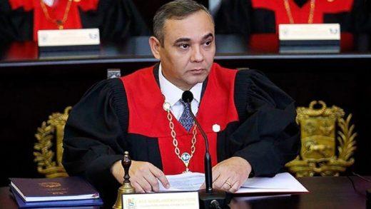 Maikel Moreno afirmó que TSJ aplicará la justicia a los traidores a la patria