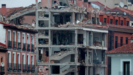 Vea los graves daños causados por la explosión en Madrid (+Video)