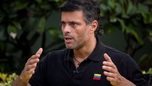 Leopoldo López repudia detención del diputado Gilberto Sojo