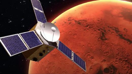 Así se prepara el orbitador de Emiratos Árabes para alcanzar la órbita de Marte (+Video)