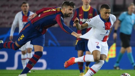 PSG vence al FC Barcelona 1-4 en la Champions League