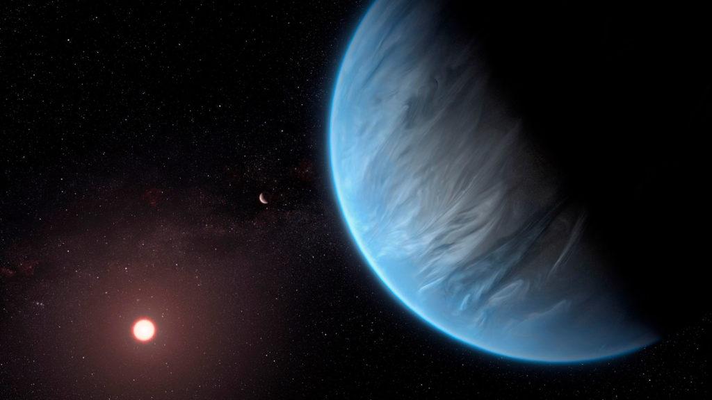 Planetas con acumulación de agua como la Tierra son abundantes en la Vía Láctea
