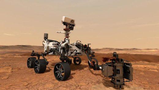 Robot de la NASA aterriza este #18Feb en Marte para buscar indicios de vida
