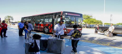 Crean ruta de transporte para movilizar al personal de Aeropuerto de Nueva Esparta