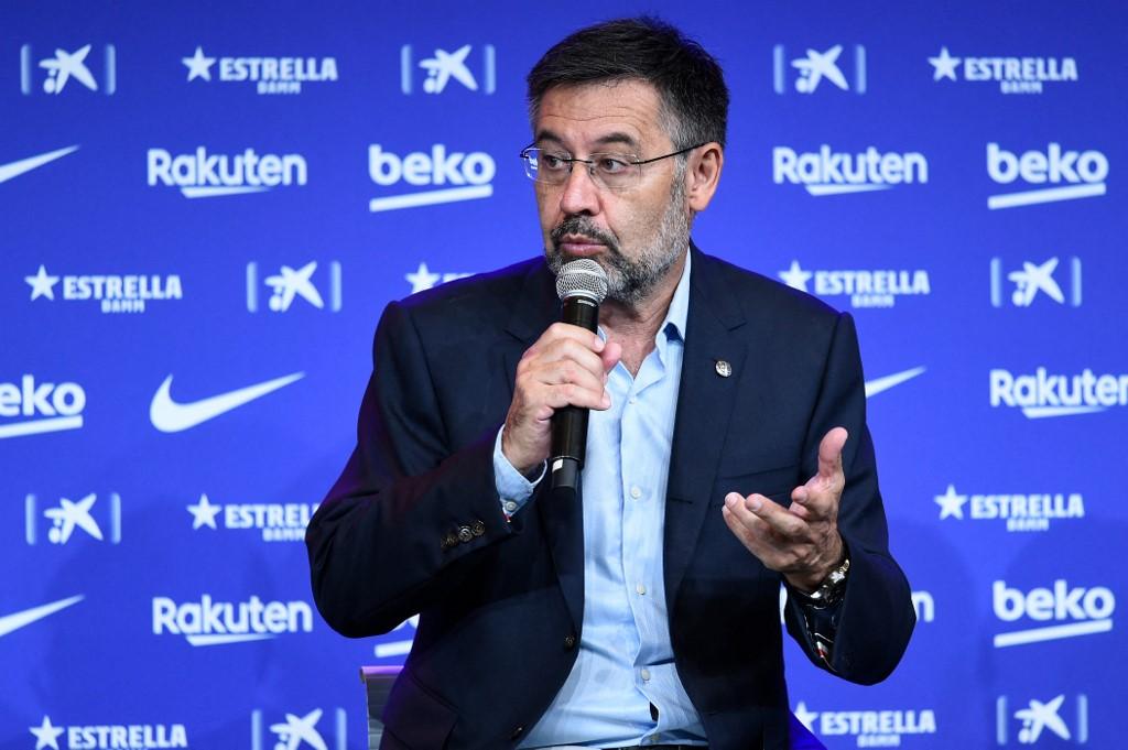 Expresidente del Barcelona FC Josep Maria Bartomeu queda en libertad provisional