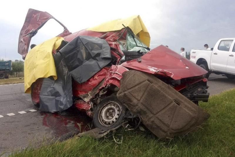 Tres venezolanos fallecen en un aparatoso accidente de tránsito en Argentina