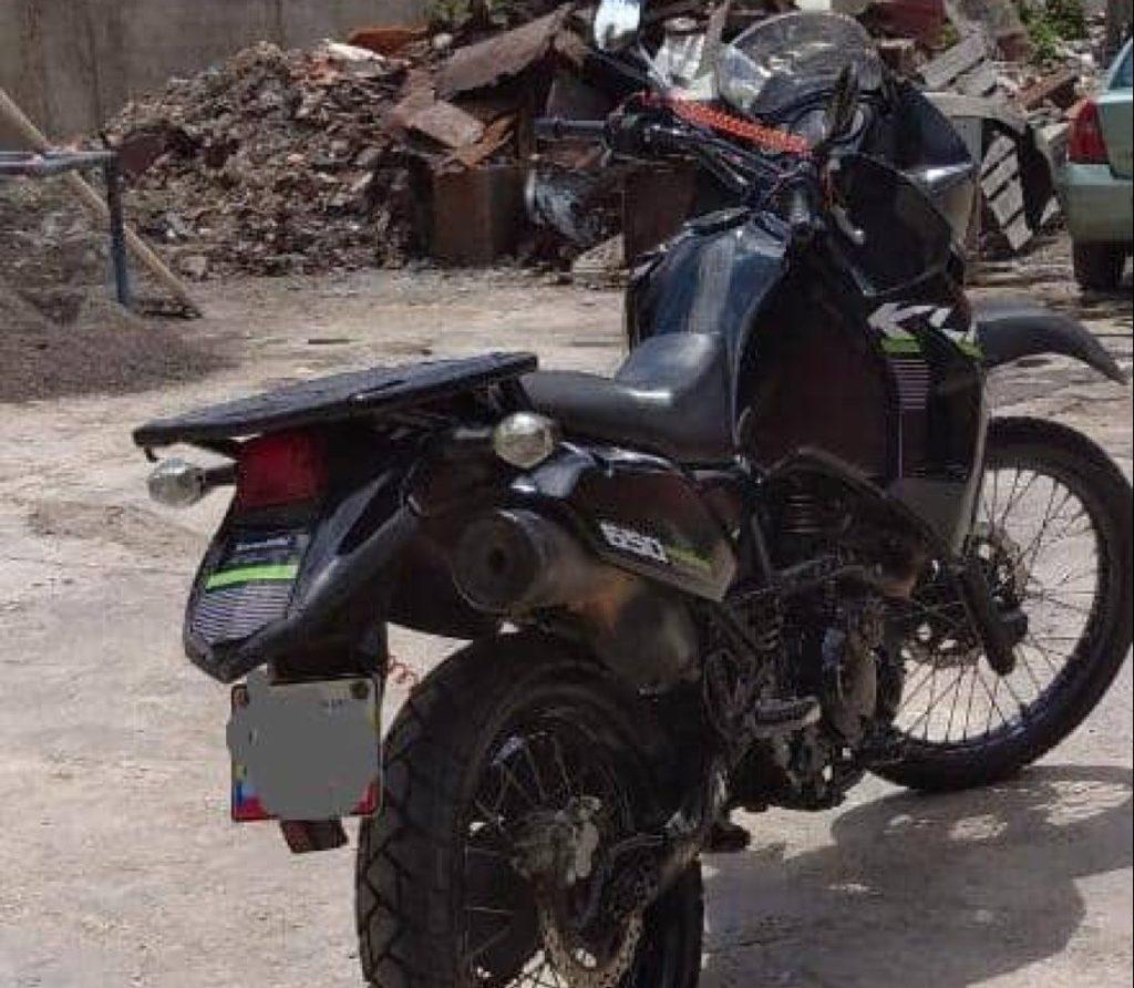 Moto robada a un médico durante tiroteo en la Cota 905 fue devuelta