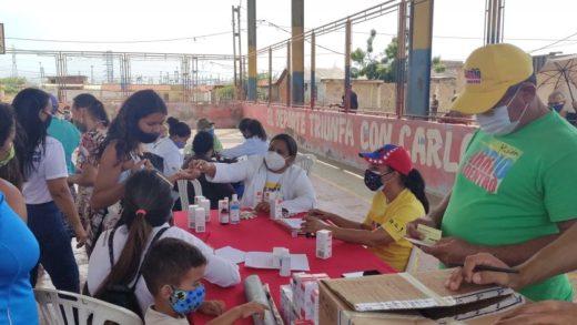 Más de 23 mil familias de Mariño fueron atendidas con abordaje integral