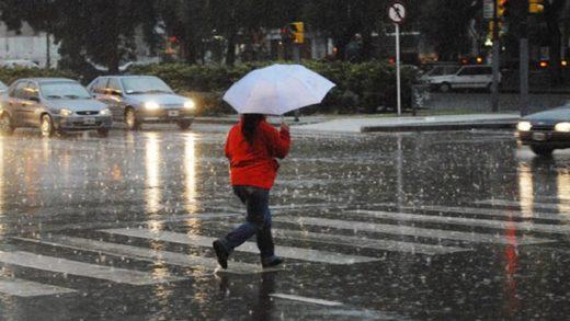 Prevén lluvias y chaparrones en el país este miércoles #31Mar