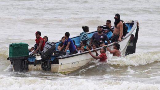 GNB interceptó dos embarcaciones con migrantes venezolanos que iban hacia Trinidad y Tobago