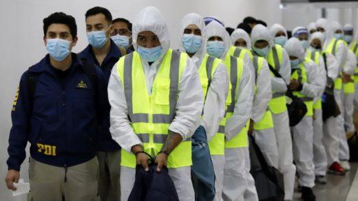 55 venezolanos fueron expulsados de Chile en un nuevo proceso de deportación