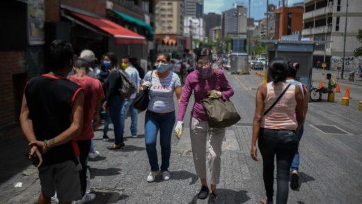 1.254 contagios y 13 muertes por covid-19 se registraron en Venezuela