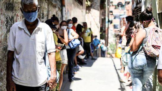 Venezuela registra 20 nuevos fallecimientos y casi 1.400 nuevos contagios