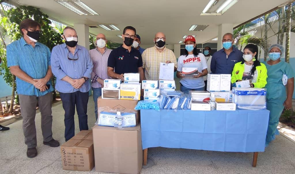 Hospital Luis Ortega de Porlamar recibió insumos de bioseguridad
