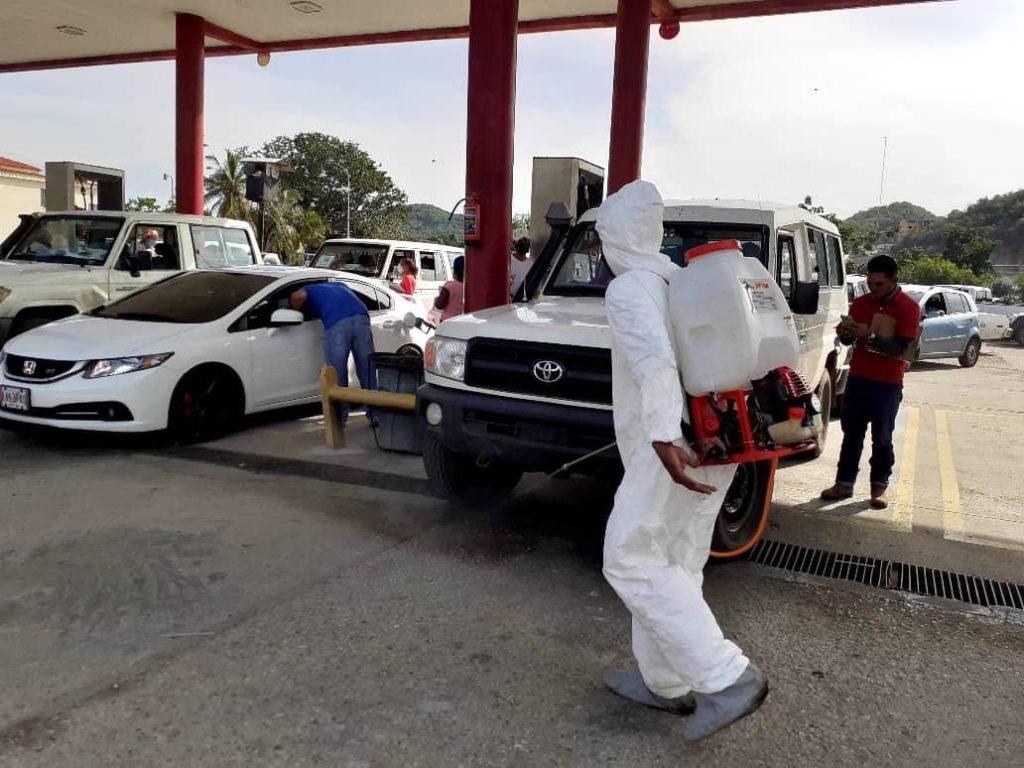 Más de 100 mil operativos de desinfección se realizaron hasta el mes de marzo en Nueva Esparta