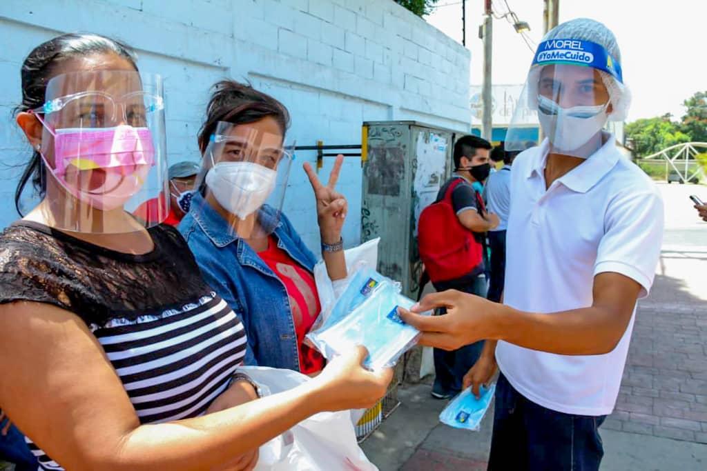 """Campaña """"Yo Me Cuido"""" resguarda la salud de neoespartanos contra el coronavirus"""