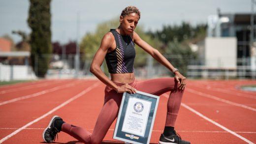 Yulimar Roja es la primera latina que recibe un Record Guiness en atletismo