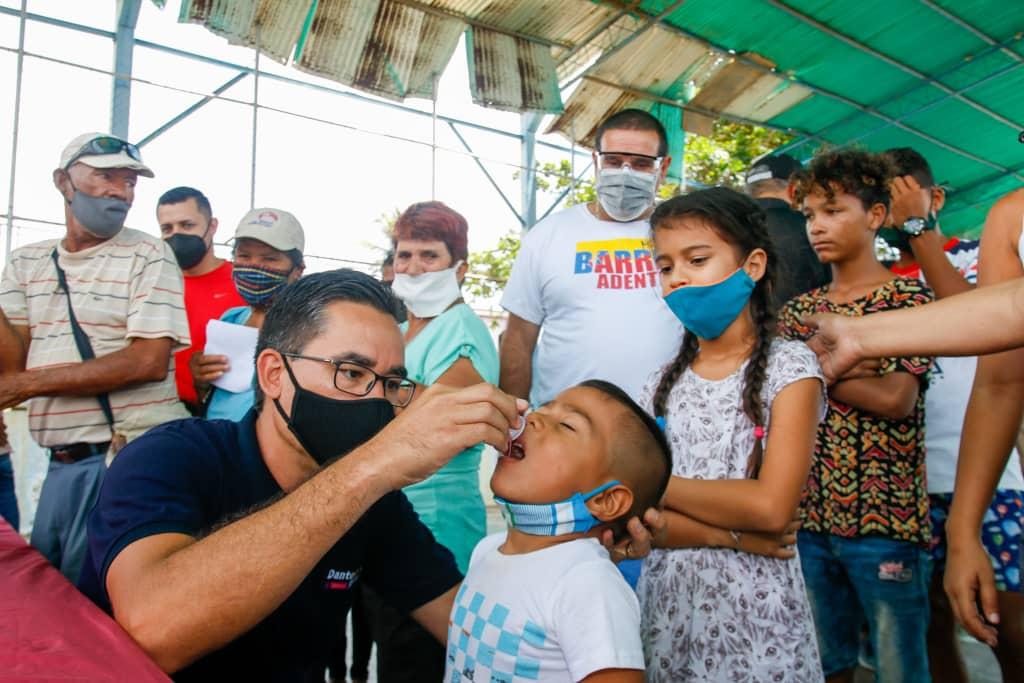 Familias de Antolín del Campo fueron atendidas con abordaje integral