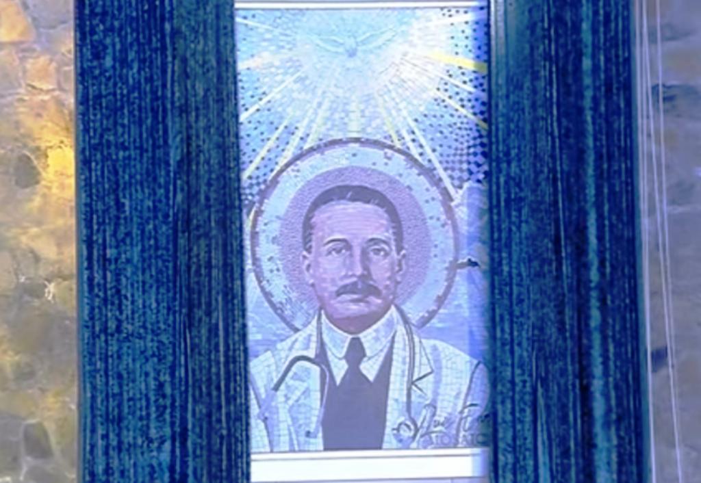 Imagen del Dr. José Gregorio Hernández fue develada en la Iglesia de La Salle en Caracas