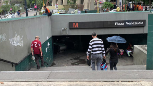 Denuncian explosiones entre las estaciones Plaza Venezuela y Sabana Grande del Metro de Caracas