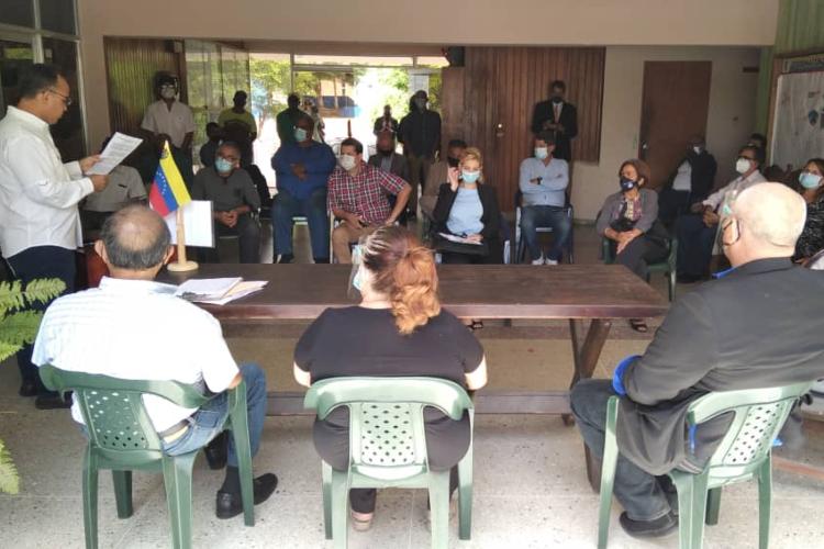 Unidad Intergremial insular se suman al pacto nacional de restitución de la Constitución